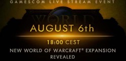 New World of Warcraft expansion to be unveiled at gamescom 2015
